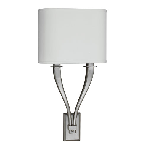 Tory Satin Nickel 11-Inch Two-Light LED Wall Sconce