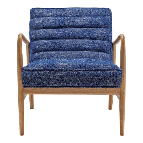 Adeline Blue Accent Occasional Chair