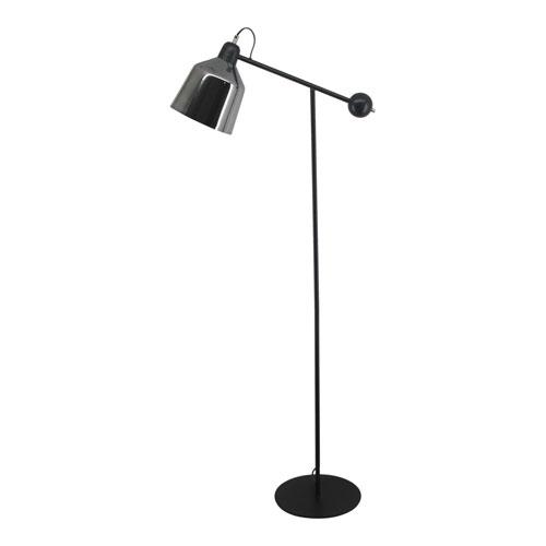 Sonny Black One Light LED Floor Lamp