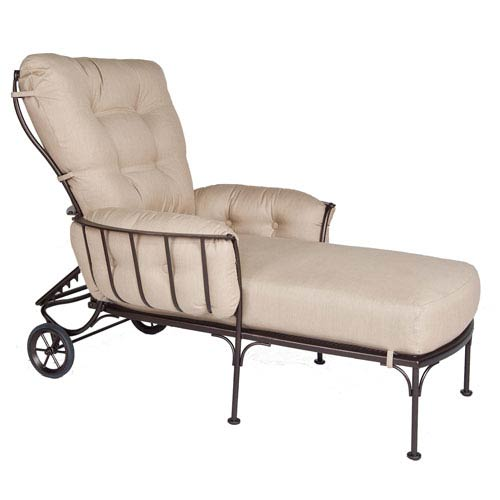 Adjustable Chaise, Copper Canyon and Flagship Stone