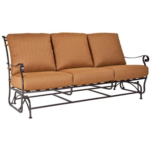 Sofa Glider, Copper Canyon and Trax Teak