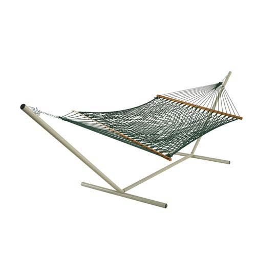 Rope Hammock Duracord Green Presidential