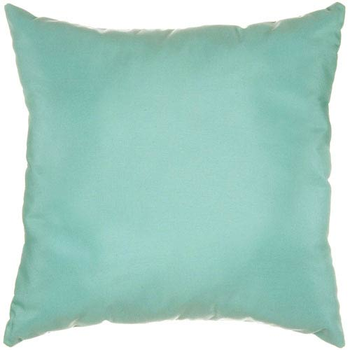 Pillow Sunbrella Square Extra Large Canvas Glacier