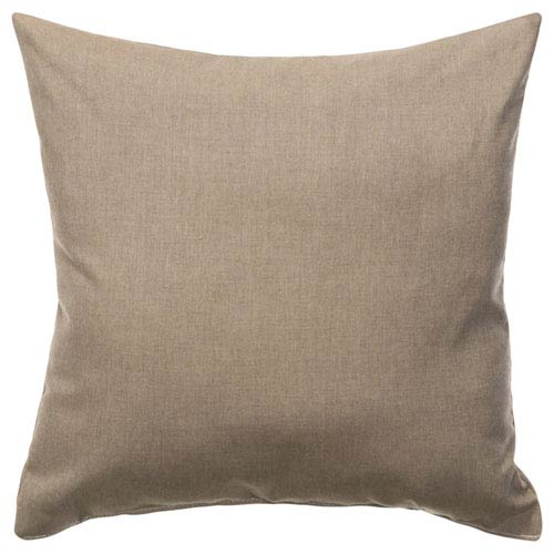 Pillow Sunbrella Square Extra Extra Large Cast Shale
