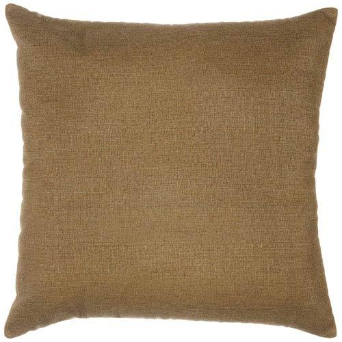 Pawley's Island Pillow Sunbrella Square Extra Large Sesame Linen