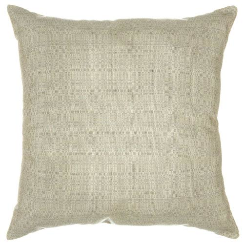Pawley's Island Pillow Sunbrella Square Large Linen Silver