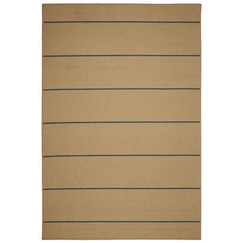Rug Palmetto Stripe 5X7 Natural