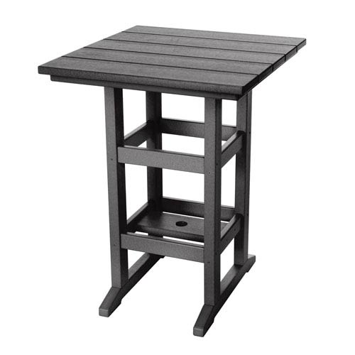 Durawood Black Counter Height Table
