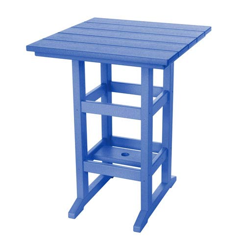 Pawley's Island Durawood Blue Counter Height Table