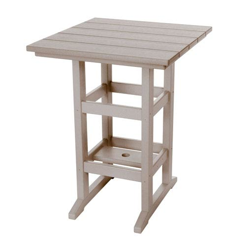 Durawood Weatherwood Counter Height Table