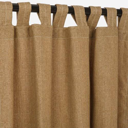 Sunbrella Curtain with Tabs Sesame