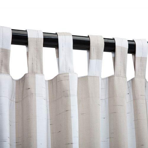 Sunbrella Curtain with Tab Decade Sand
