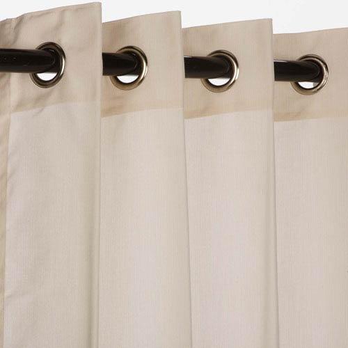 Pawley's Island Sunbrella Curtain with Grommets Eggshell