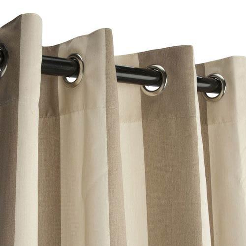 Sunbrella Curtain with Grommets Regency Sand