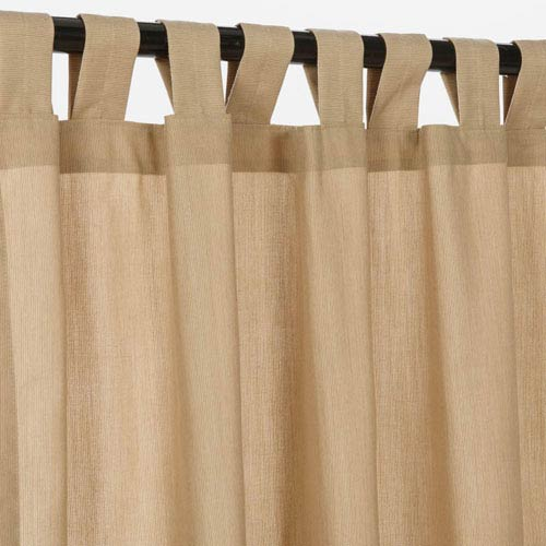 Curtain with Tab Spectrum Sand