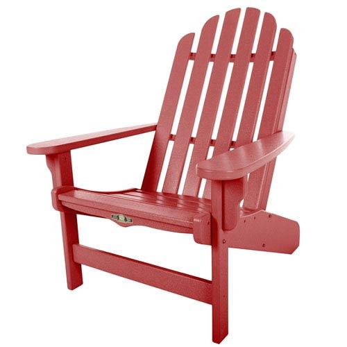 Essentials Red Adirondack Chair