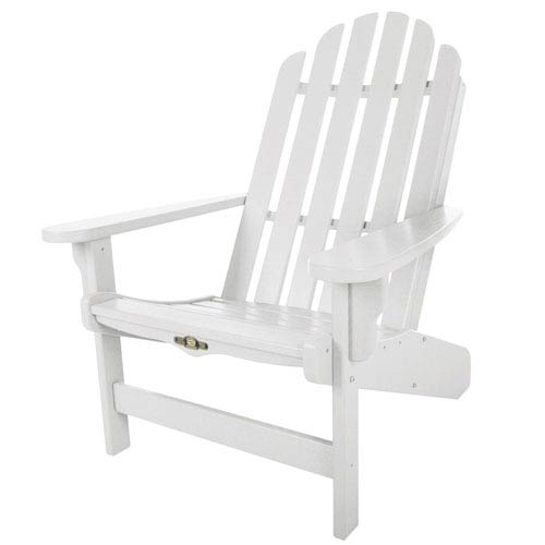 Essentials White Adirondack Chair