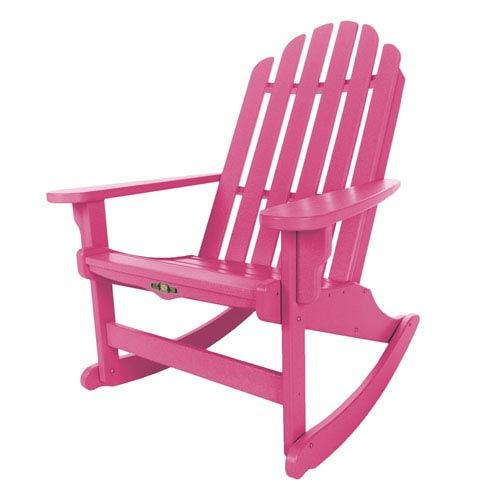 Essentials Pink Adirondack Rocker