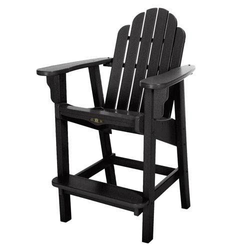 Pawley's Island Essentials Black Counter Chair