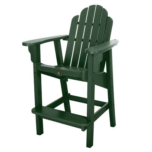 Essentials Green Counter Chair