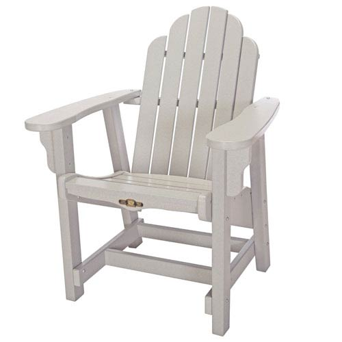 Pawley's Island Essentials Gray Conversation Chair