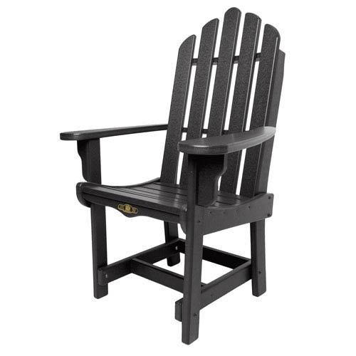 Pawley's Island Essentials Black Dining Chair/Arms