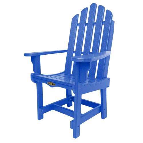 Pawley's Island Essentials Blue Dining Chair/Arms