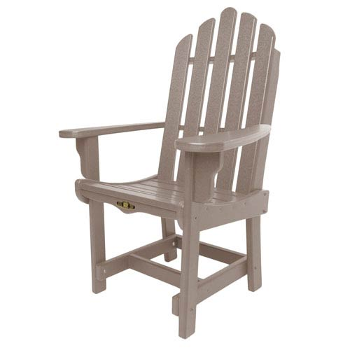 Pawley's Island Essentials Weatherwood Dining Chair/Arms