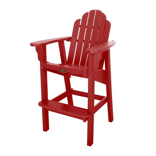 Essentials Red High Dining Chair