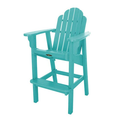 Essentials Turquoise High Dining Chair