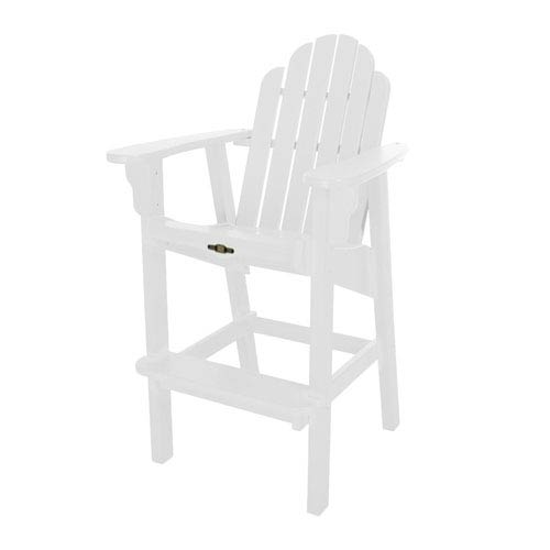 Essentials White High Dining Chair