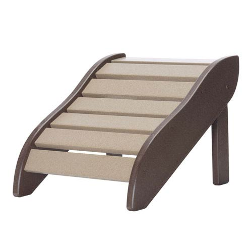 Chocolate/Weatherwood Foot Rest