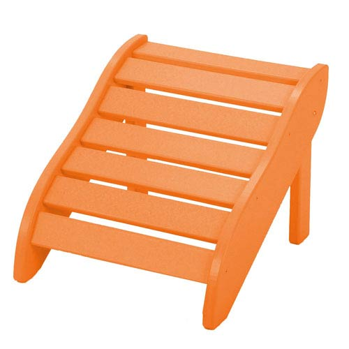Orange Foot Rest