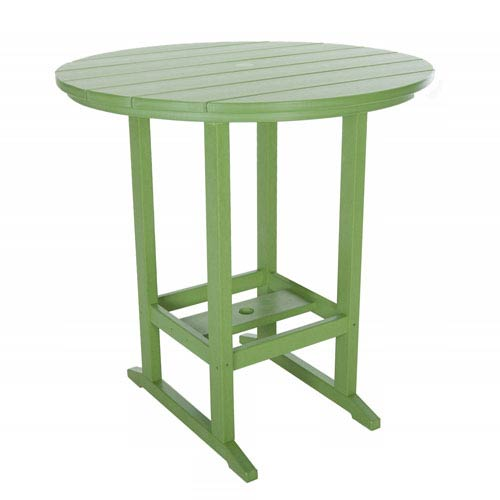 Lime High Dining Table Round