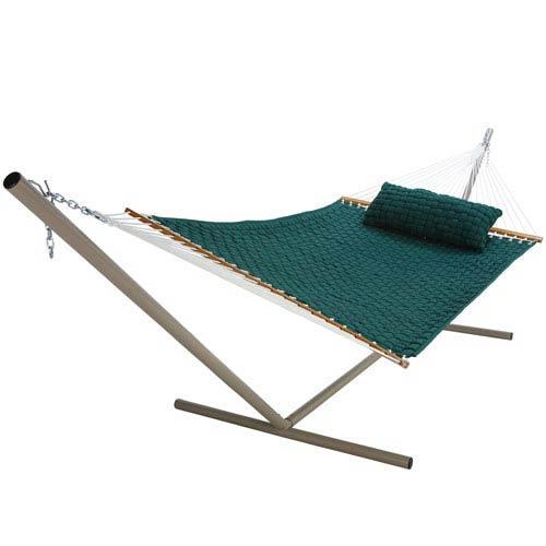 Soft Weave Hammock Dark Green