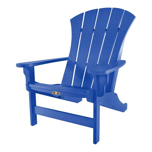 Sunrise Dew Blue Adirondack Chair