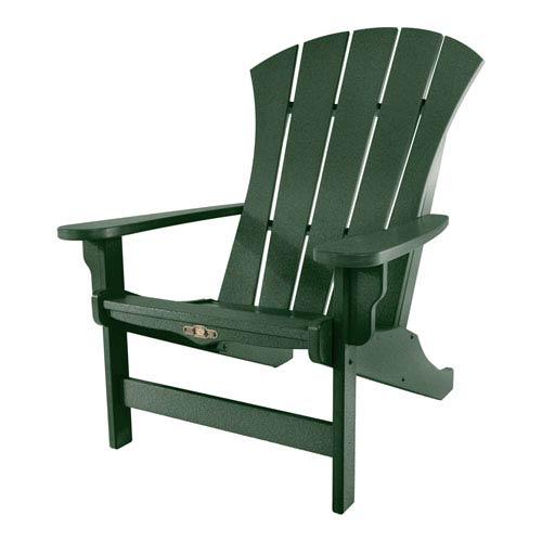 Pawley's Island Sunrise Dew Pi Green Adirondack Chair
