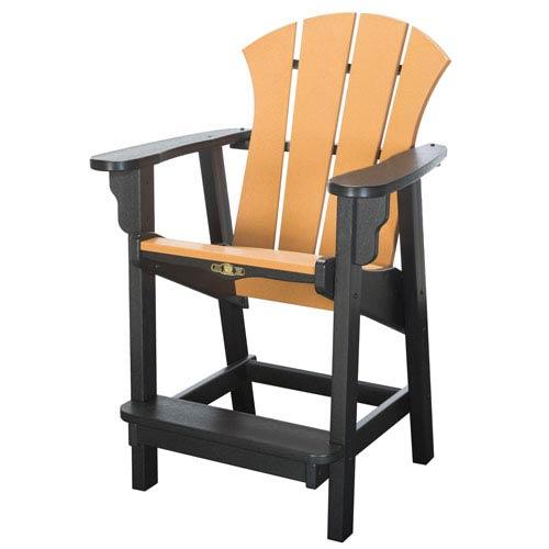 Sunrise Dew Black/Cd Counter Chair