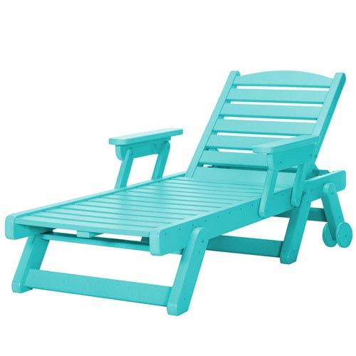 Sunrise Dew Turquoise Chaise Lounge