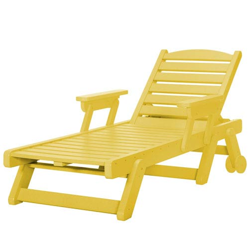 Sunrise Dew Yell Chaise Lounge