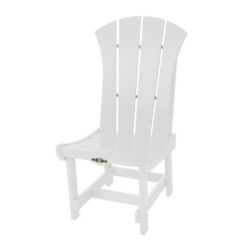 Pawley's Island Sunrise Dew White Dining Chair