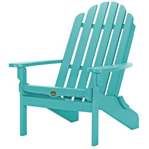 Sunrise Dew Turquoise Folding Chair