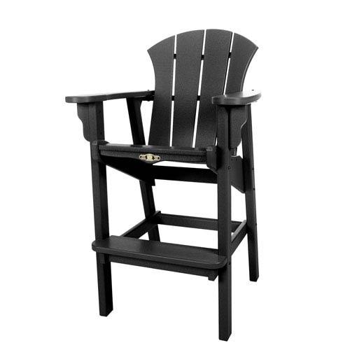 Sunrise Dew Black High Dining Chair