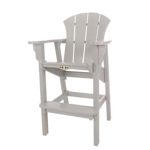 Sunrise Dew Gray High Dining Chair