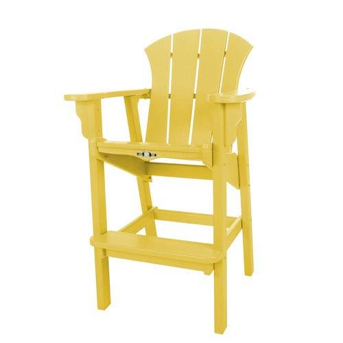 Sunrise Dew Yellow High Dining Chair