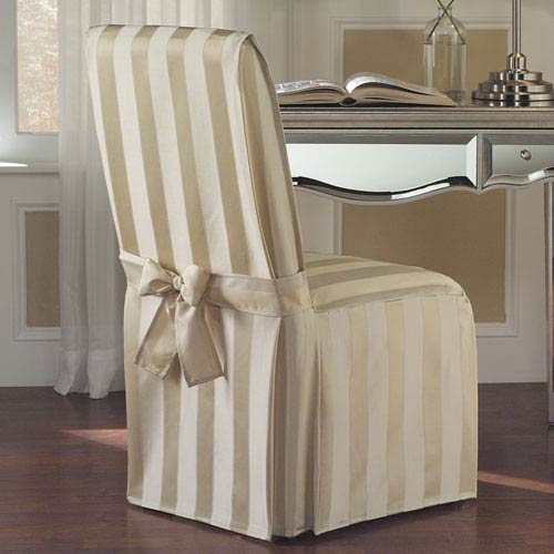 Madison Natural 39 x 18 In. Dining Room Chair Cover