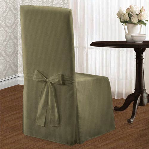 Metro Sage 39 x 18 In. Dining Room Chair Cover