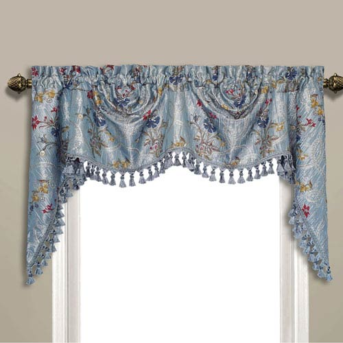 Jewel Blue 30 x 108 In. Topper