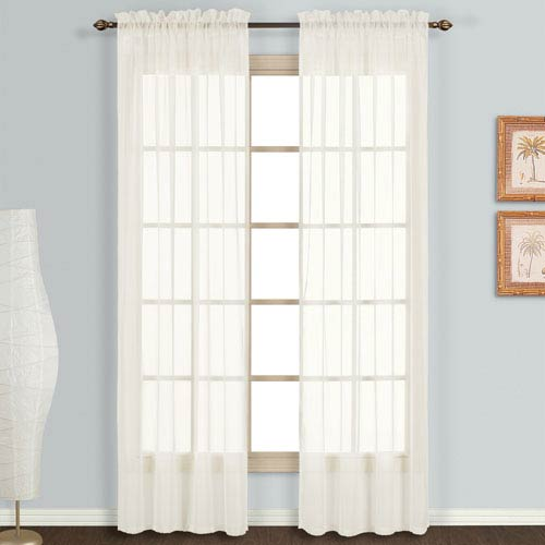 Monte Carlo Egg 120 x 118 In. Curtain Panel Set, Set of Two