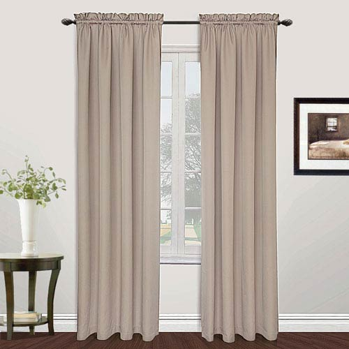 United Curtain Co. Metro Natural 95 x 54 In. Curtain Panel